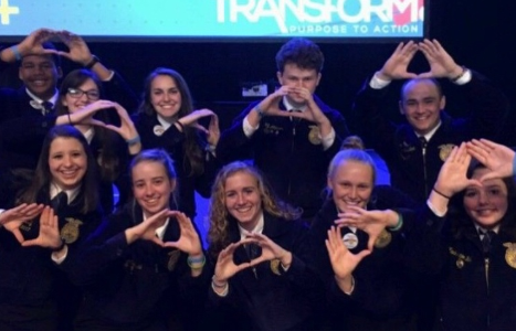 FFA members at this year's convention