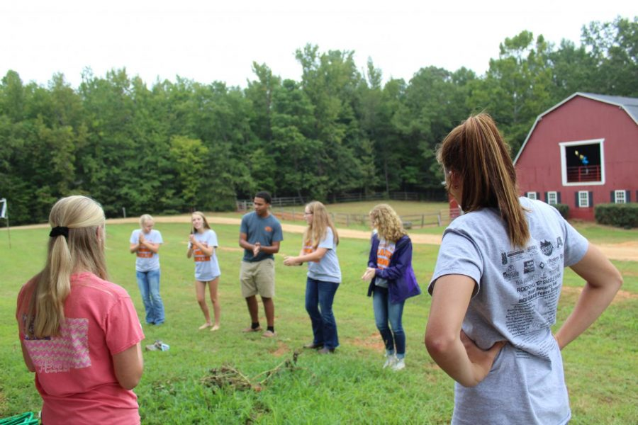FFA+officers%2C+having+fun+before+Kick-off+Cookout.
