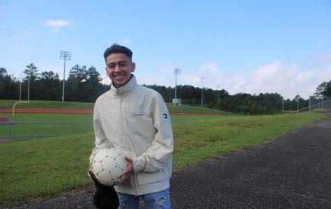 Brandon Guzman plays for both the Varsity and JV soccer teams.