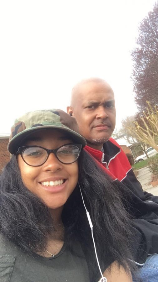 My dad and me, spending time together on Easter 2018
